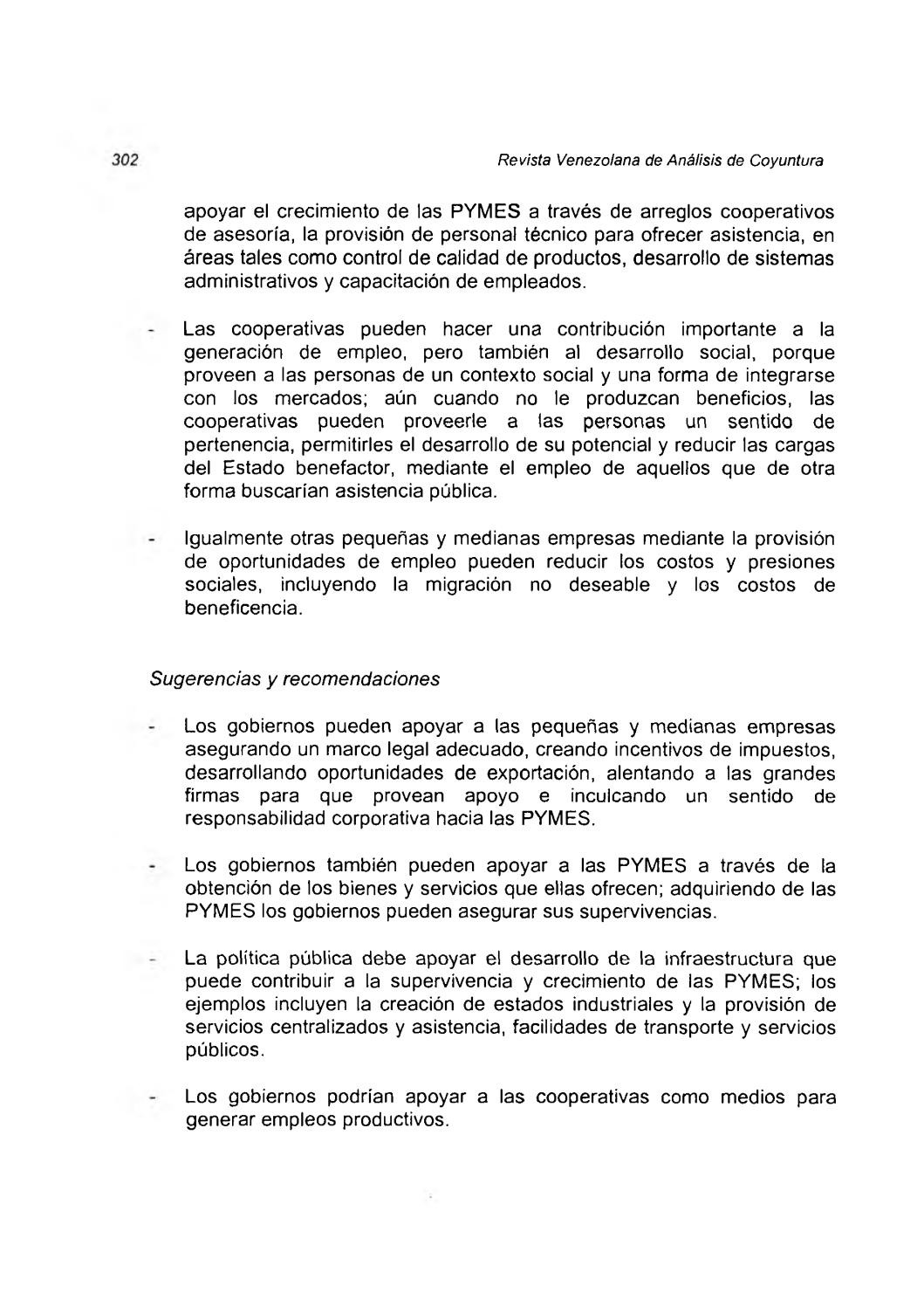 Revista Venezolana De Análisis De Coyuntura Volumen Vi Nº 1