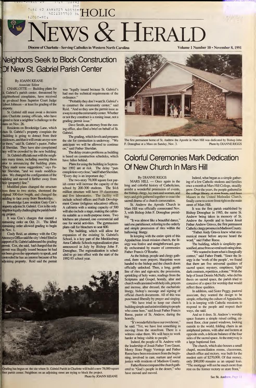 Nov. 8, 1991 by Catholic News Herald - issuu