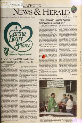 Jan 31 1992 By Catholic News Herald Issuu