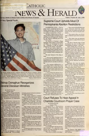 July 3, 1992 by Catholic News Herald - issuu