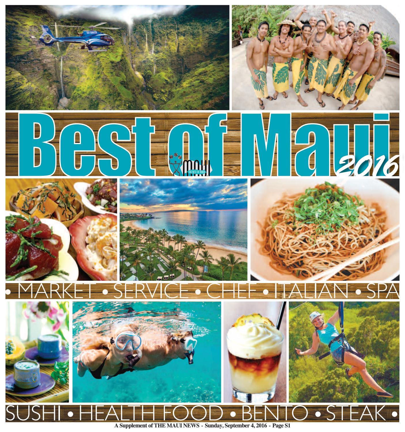 Best of Maui 2016 by Maui Publishing Company - issuu