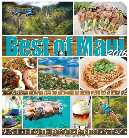 Best Of Maui 2016 By Publishing Company