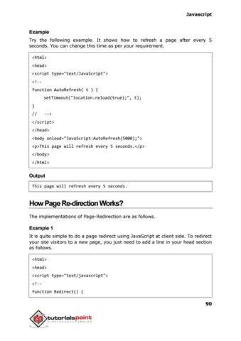 Javascript tutorial by Jf Viladepereira - issuu