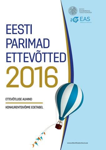 2c6157353cd Eesti parimad ettev 2016 by Eesti Kaubandus-Tööstuskoda / Estonian ...