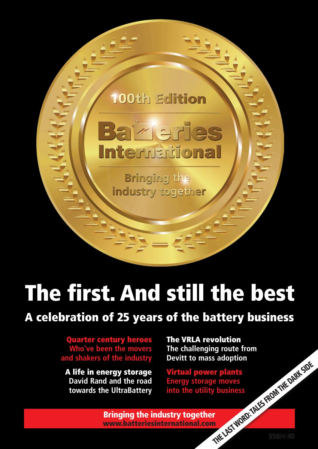 Batteries100th Issue 25years In The Industry By Hamptonhalls Issuu Polaris 600 Classic Wiring Diagram 2008