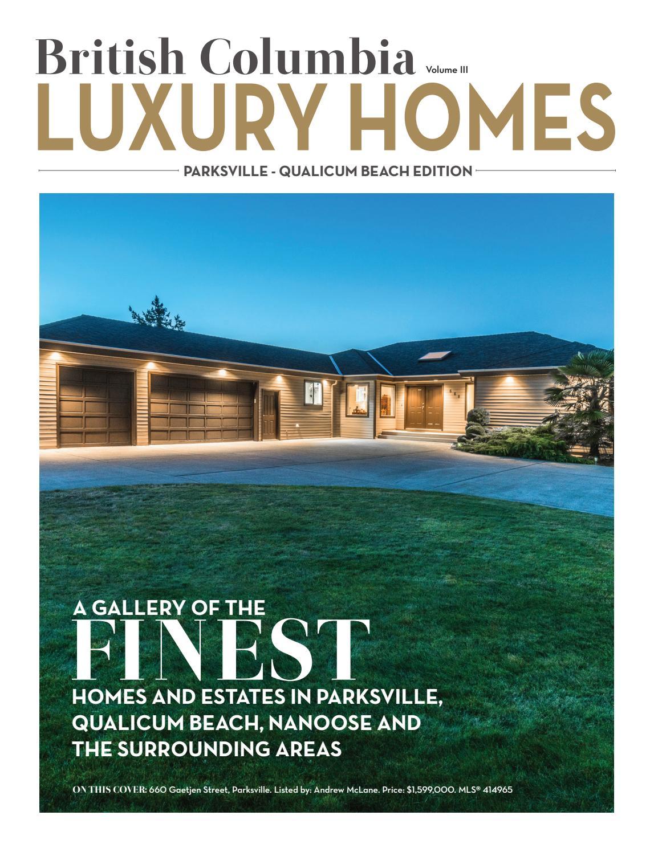 British Columbia Luxury Homes – Parksville – Qualicum Beach Edition ...