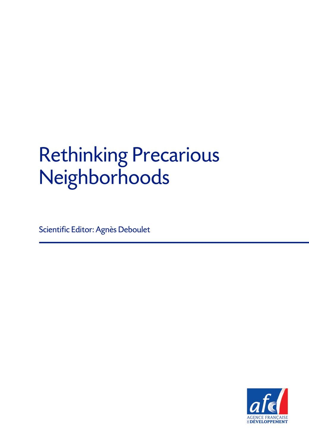 Etudes De Lafd N 13 Rethinking Precarious Neighborhoods By Solid State Relay Jakarta Agence Franaise Dveloppement Issuu