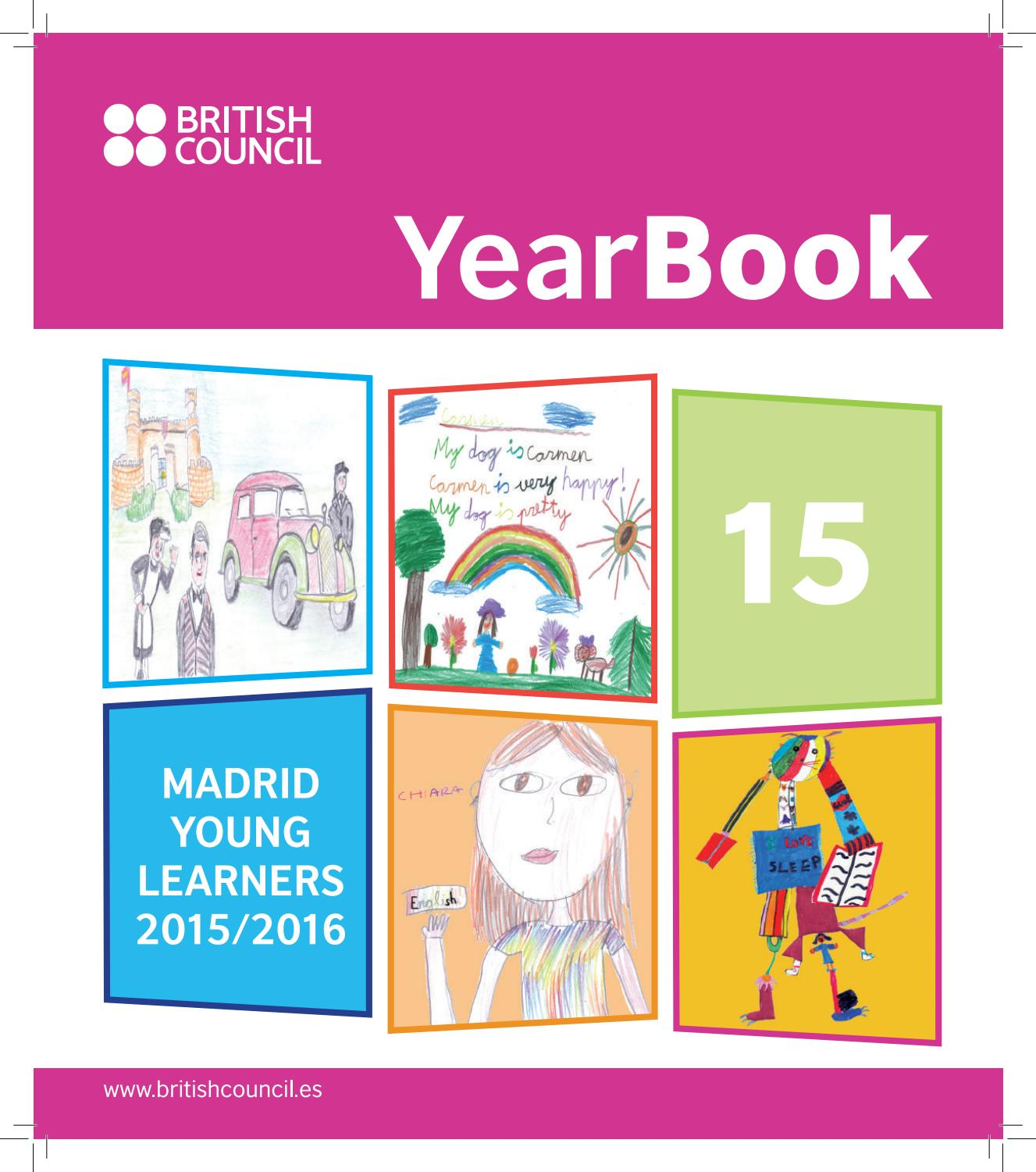 yearbook 2015 16 comp by british council madrid issuu