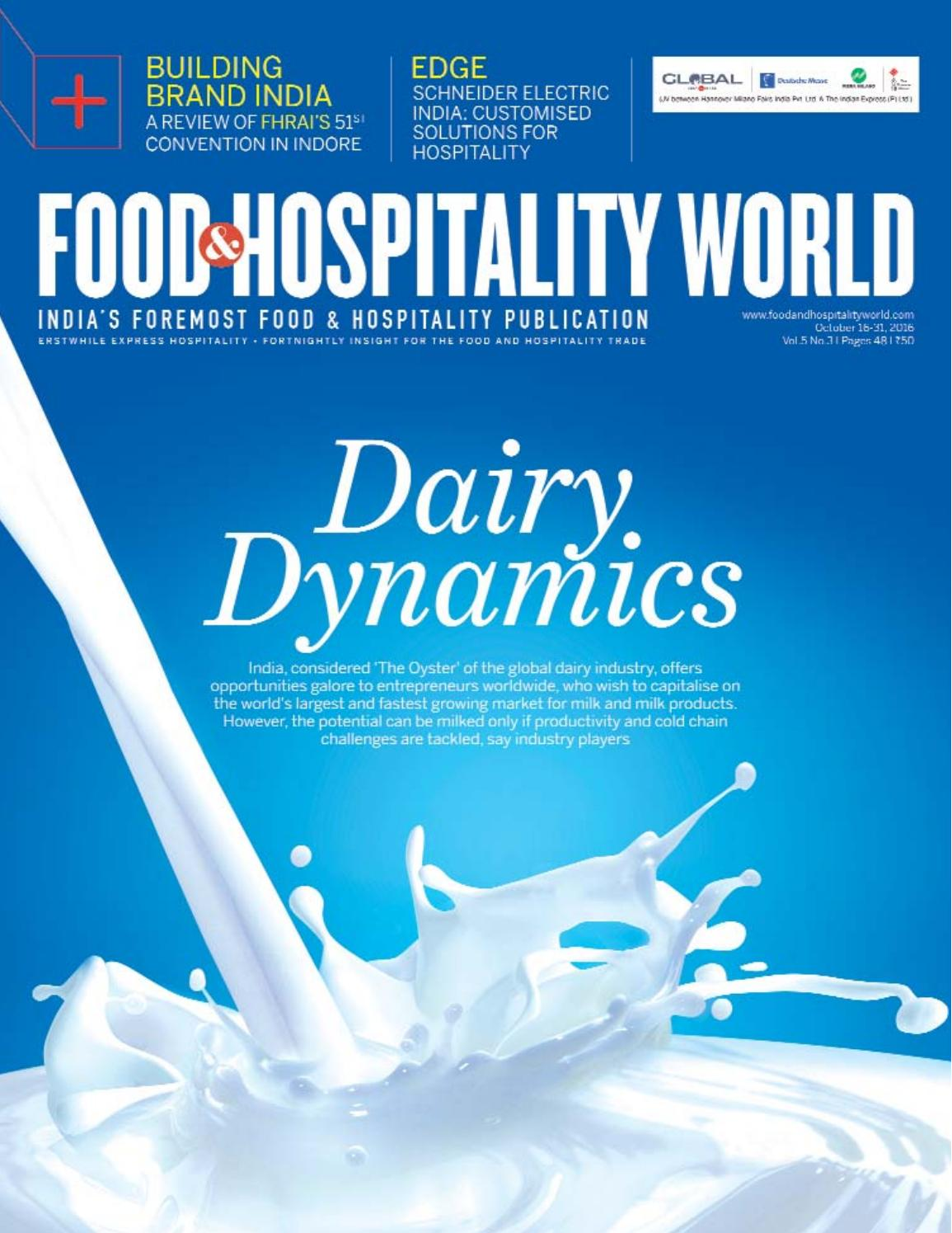 Food and Hopsitality World (Vol.5, No.3) October 16-31, 2016 by ...