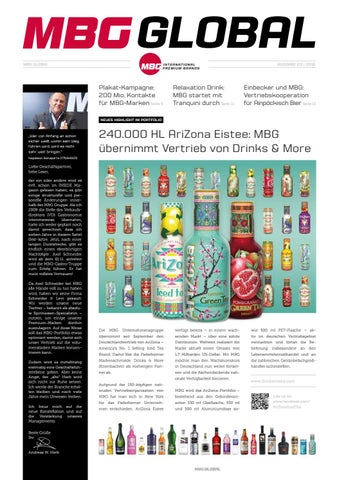 MBG Global Edition 03 - 2016 by MBG International Premium Brands - issuu