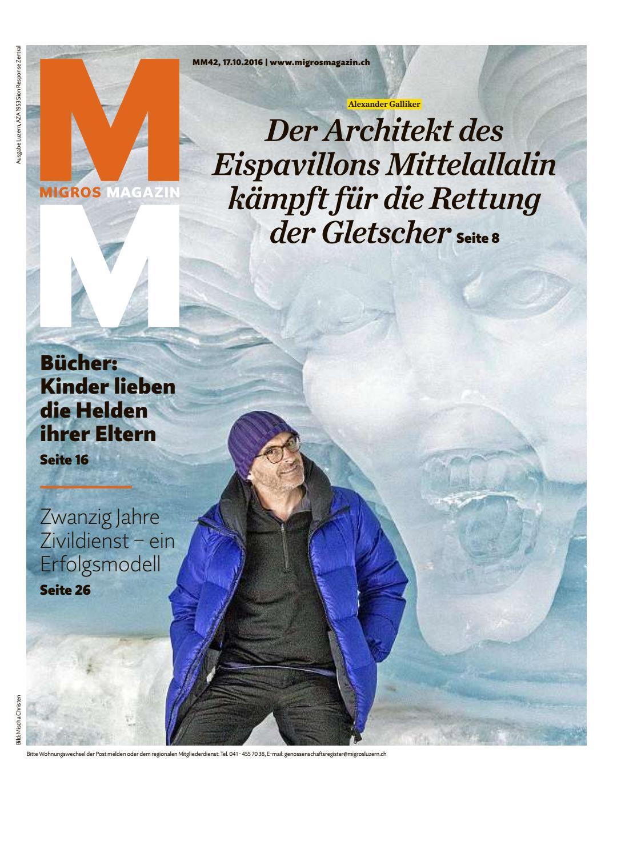 Migros magazin 42 2016 d lu by Migros-Genossenschafts-Bund - issuu