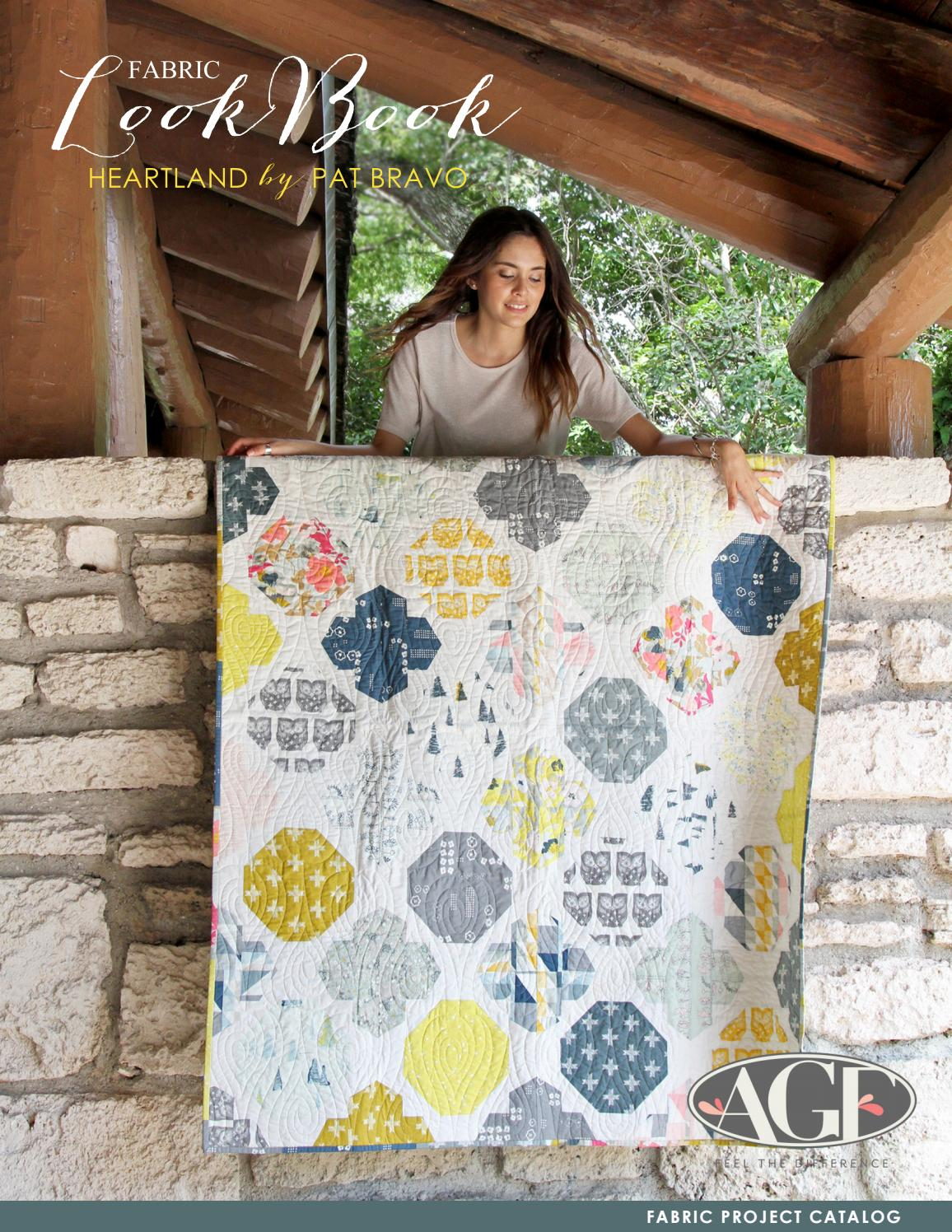 Heartland by Pat Bravo by Art Gallery Fabrics - issuu : quilt supplies catalog - Adamdwight.com