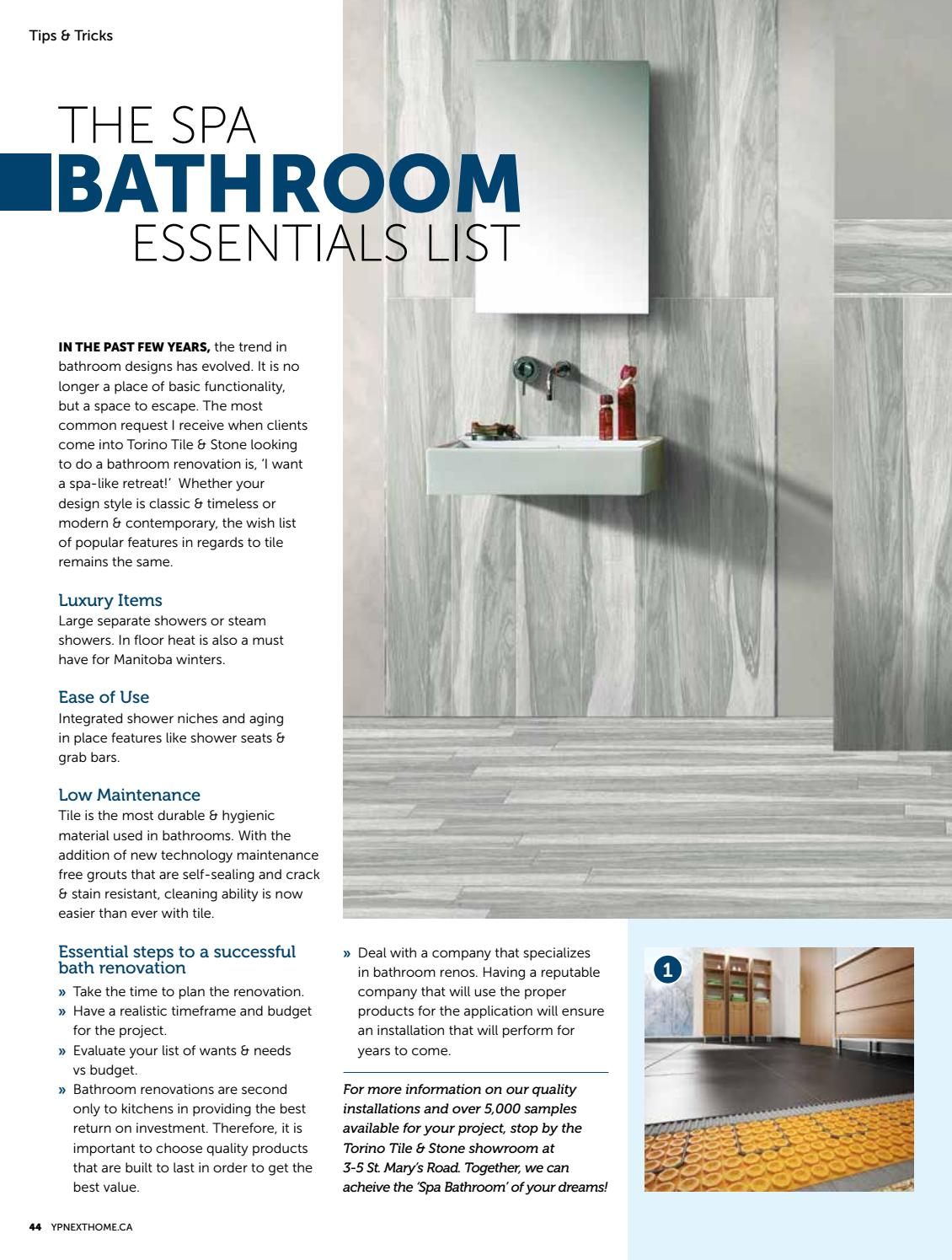 Manitoba Home Decor U0026 Renovations   Oct/Nov 2016 By NextHome   Issuu