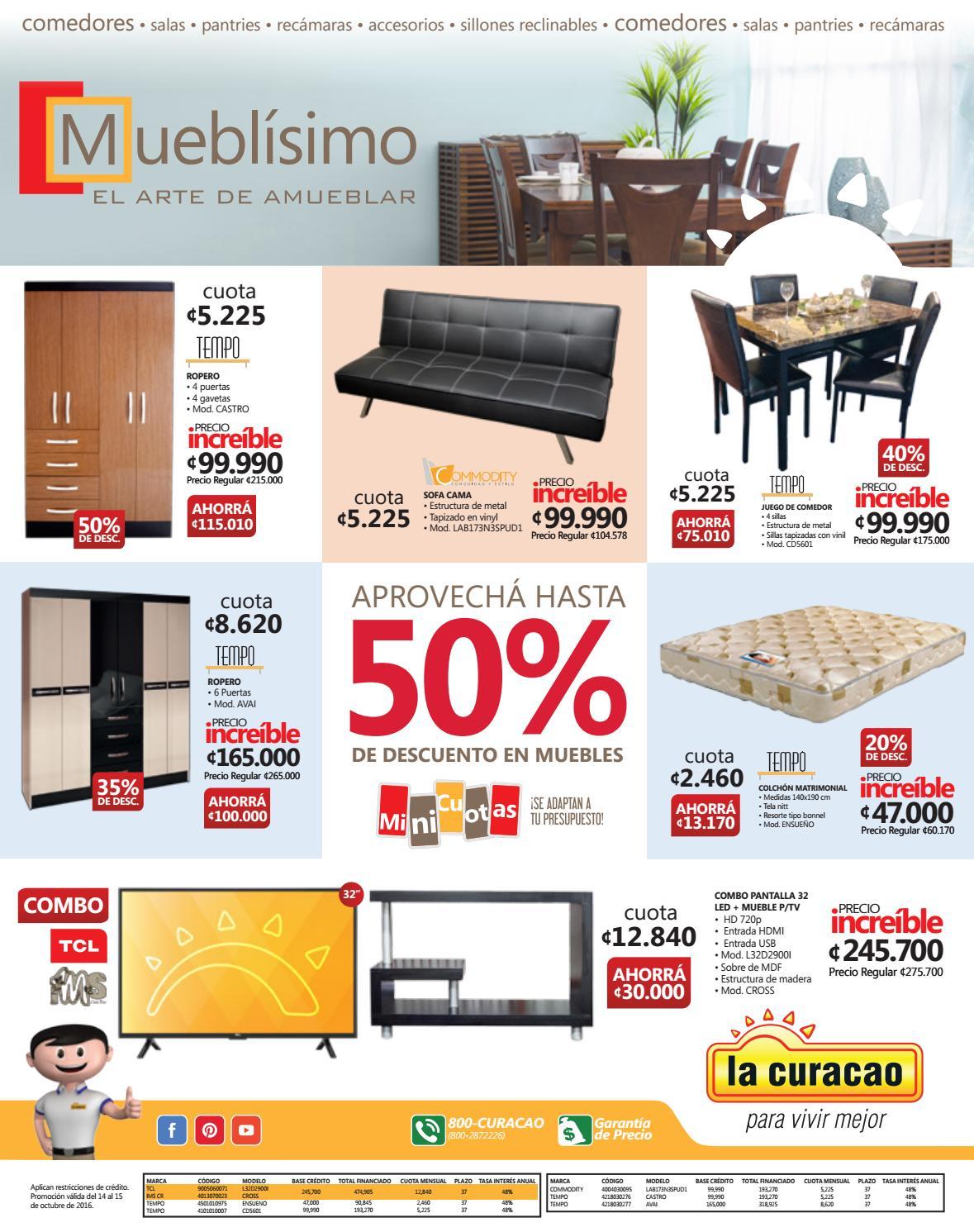 Los Mejores Muebles Al Mejor Precio La Curacao By La