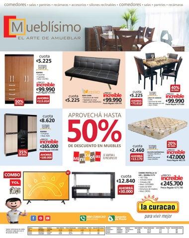 Los mejores muebles al mejor precio la curacao by la curacao cr issuu - Muebles el mogollon ...
