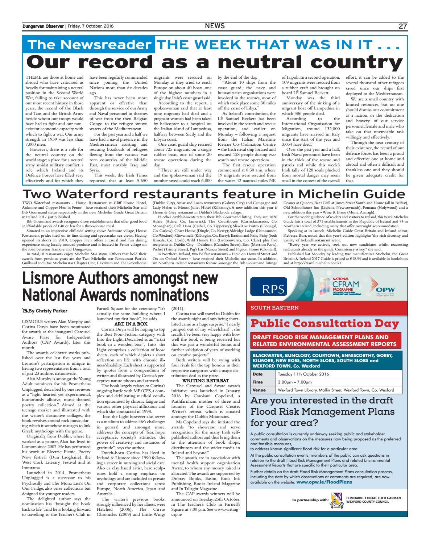 Dungarvan observer 7 10 2016 edition by Dungarvan Observer