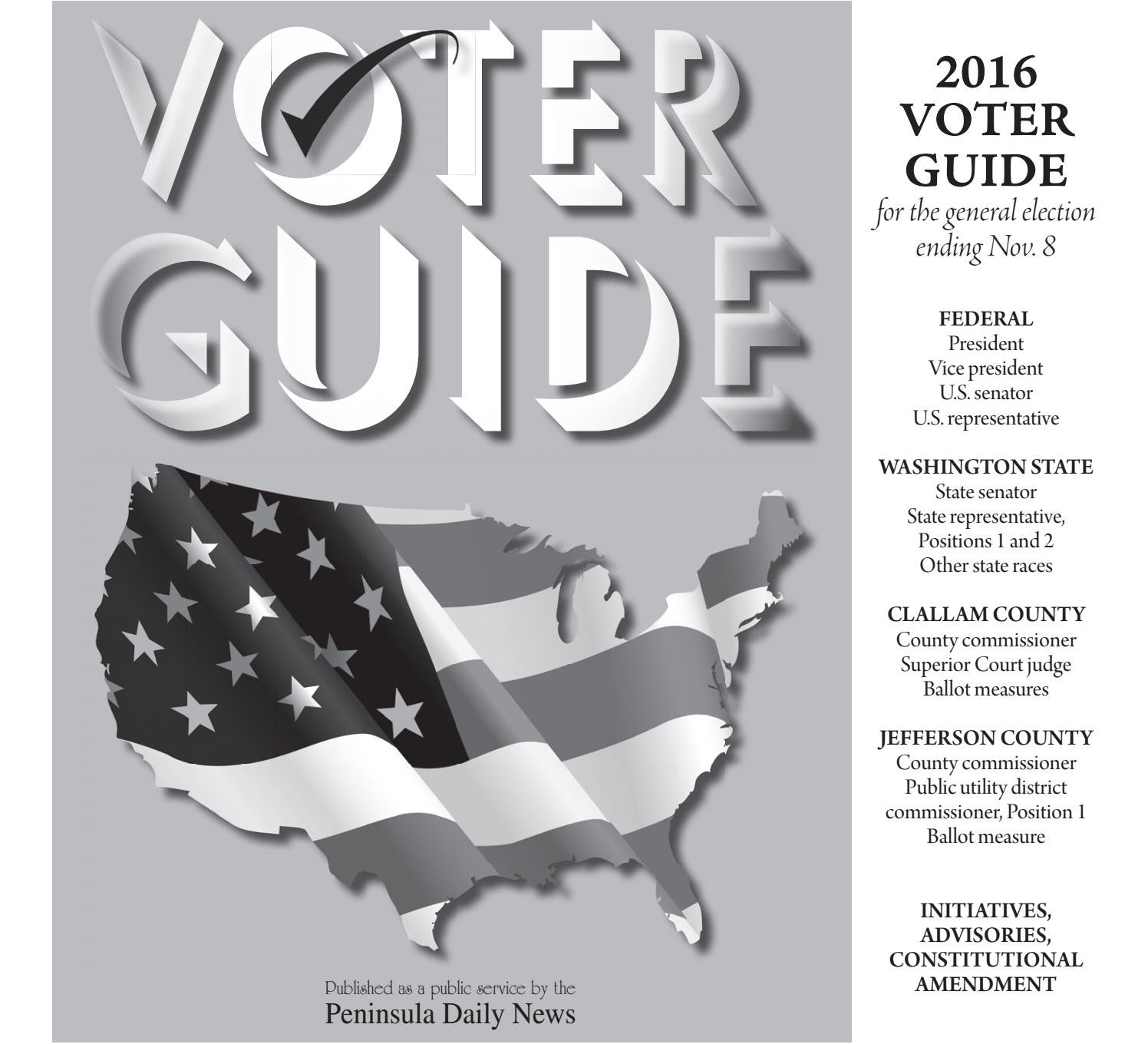 special sections - voters guide by sound publishing - issuu