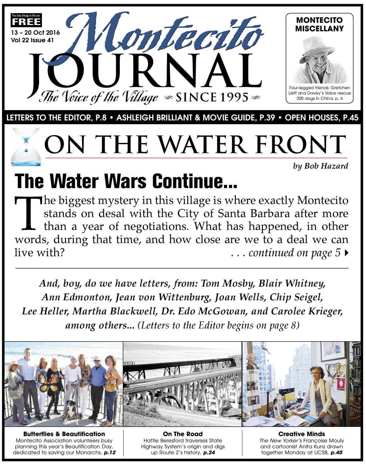 the water wars continue by montecito journal issuu