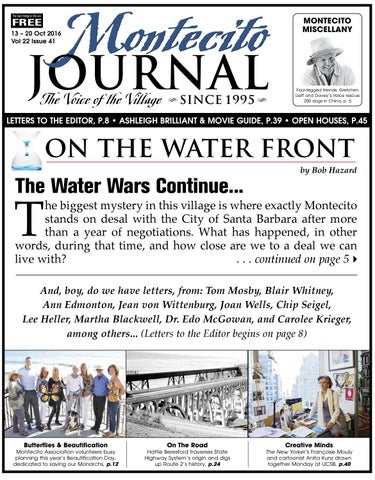 31d345a9f3aa23 The Water Wars Continue by Montecito Journal - issuu