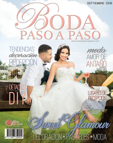 Revista Boda Paso A Paso Septiembre 2016 By Boda Paso A