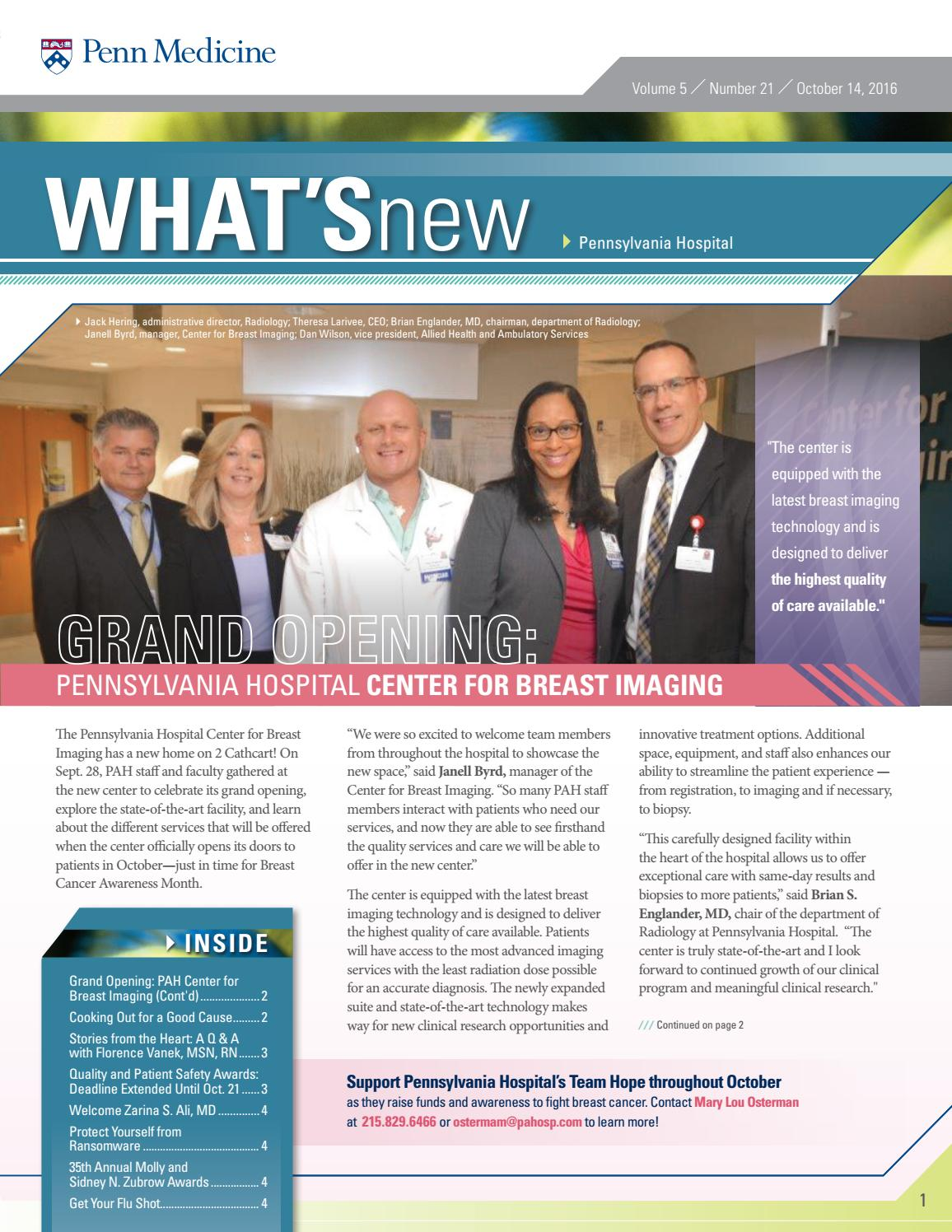 Digital Edition of What's New - 10/14/2016