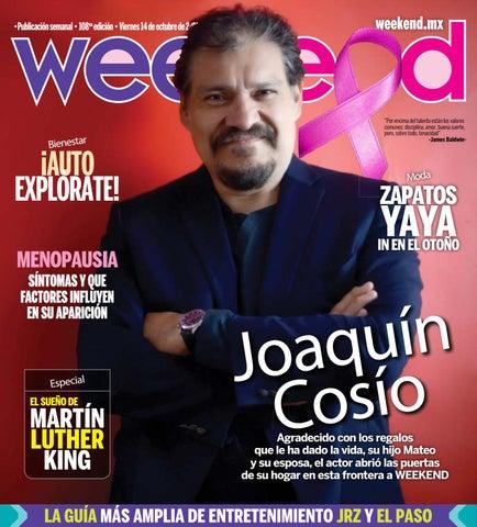14Octubre2016 – Edición 108 by Weekend.mx issuu
