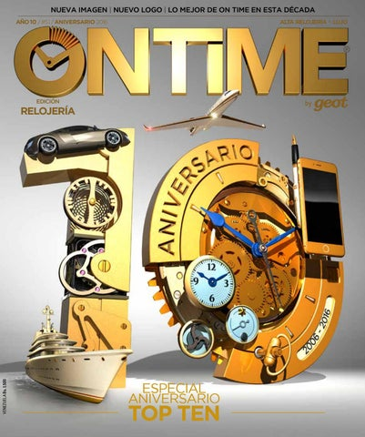 83f55fa64d0b On Time ANIVERSARIO 2016 by Geot  Grupo Editorial On Time  - issuu