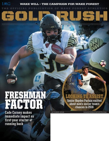 5cd33e93569e8a Gold Rush - October 2016 by Wake Forest Deacon Club - issuu