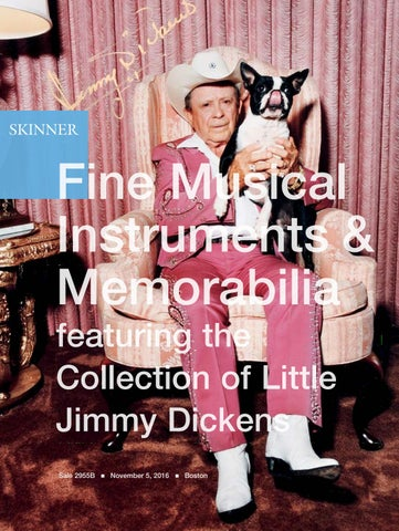 5332b3af566 Fine Musical Instruments   Memorabilia featuring the Collection of Little  Jimmy Dickens Sale 2955B