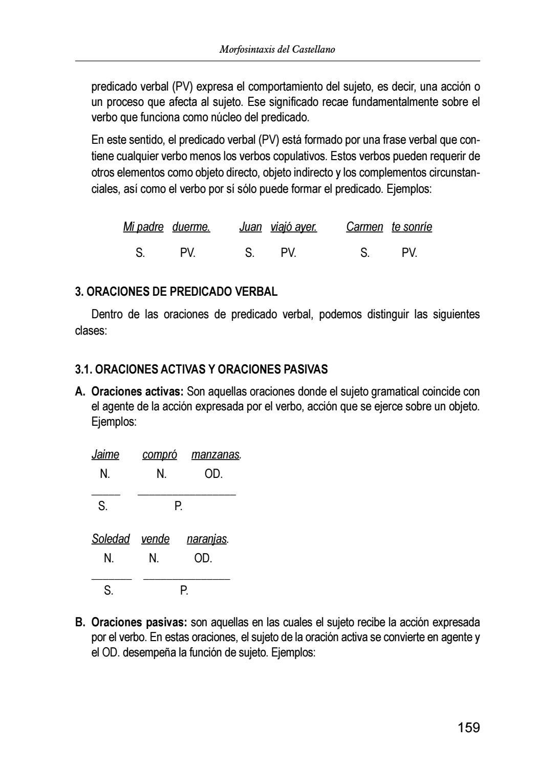Morfosintaxis del Castellano by UNMSM-PROLEX - issuu