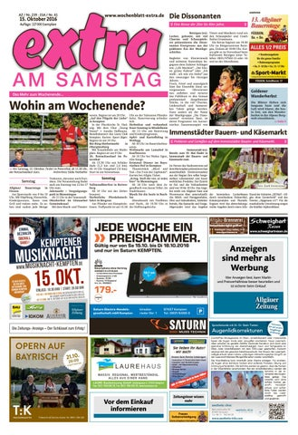 Extra Am Samstag Vom Samstag, 15. Oktober By Rta.design GmbH   Issuu