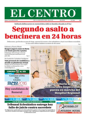 c3d9552df3 Diario 15-10-2016 by Diario El Centro S.A - issuu