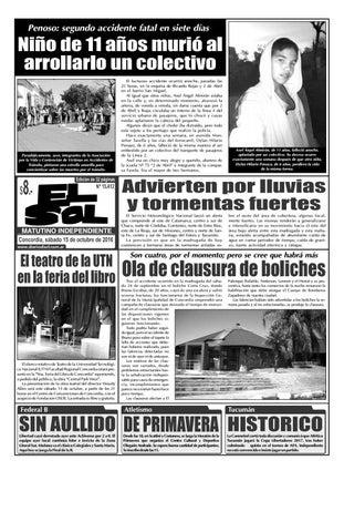 Diario El Sol (Sábado 15 octubre 2016) by Diario El Sol - issuu 188cf7d1fef85