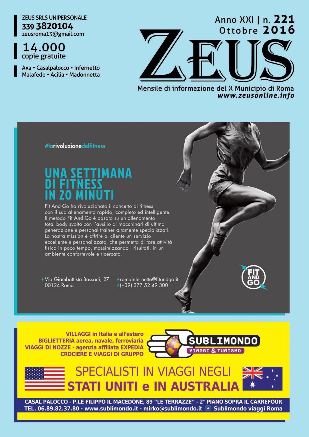 221zeus by ZEUS - Mensile di informazione X Municipio Roma