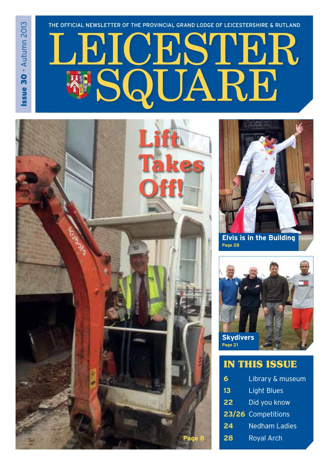 Leicester Square - Issue 30 (Autumn 2013) by Leicestershire