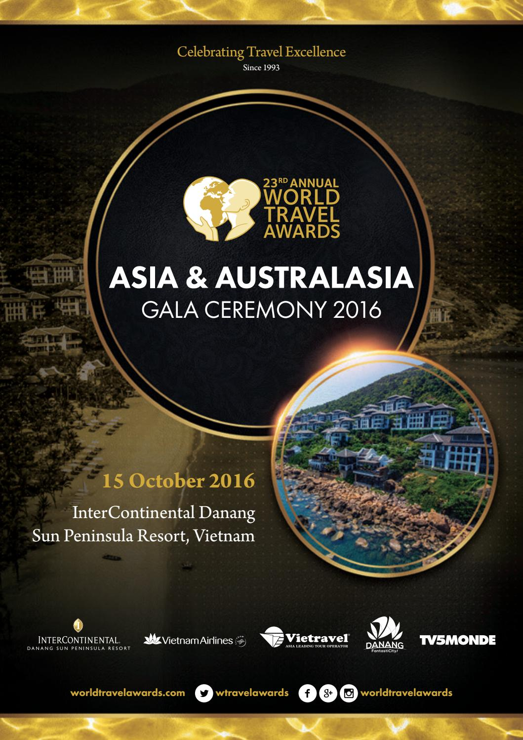 Personalised service at the villa club of kempinski hotel haitang bay - World Travel Awards Asia Australasia Gala Ceremony 2016 By World Travel Awards Issuu