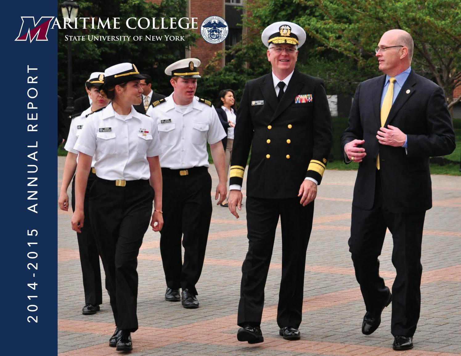 Annualreport2014 2015 By Suny Maritime College Issuu Ttec4841 Electrical Corey Leonard April 2011