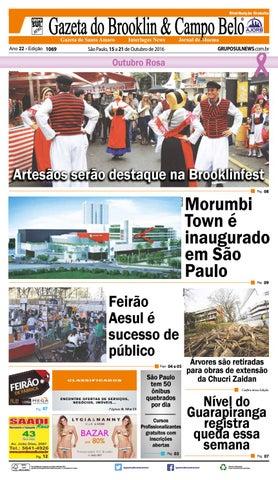 a3a56f98b8f Edição - 1069 - 15 a 21 de Outubro de 2016 by Grupo Sul News - issuu