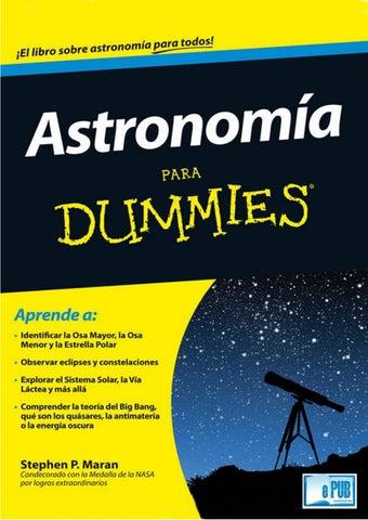 Astronomia para dummies stephen p maran by lakoko - issuu c9e45885da0