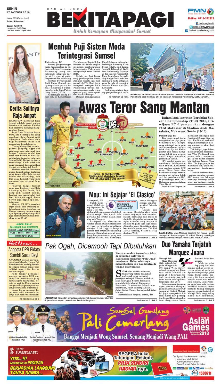 Senin 17 Oktober 2016 By Beritapagi Issuu Produk Ukm Bumn Barbekyu Kelitik Surabaya