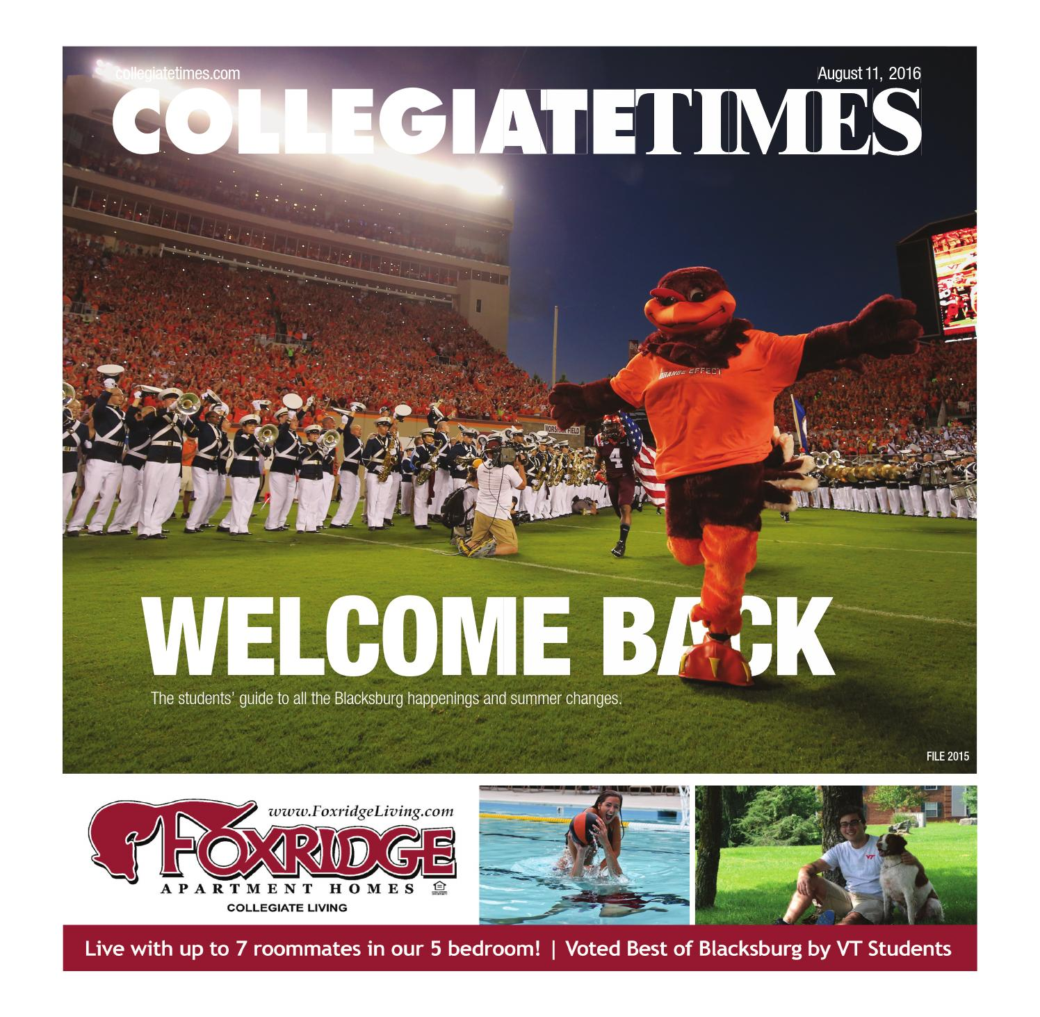 Welcome Back 2016 By The Collegiate Times Issuu Consider Circuit Above Which Has Three Light Cheggcom