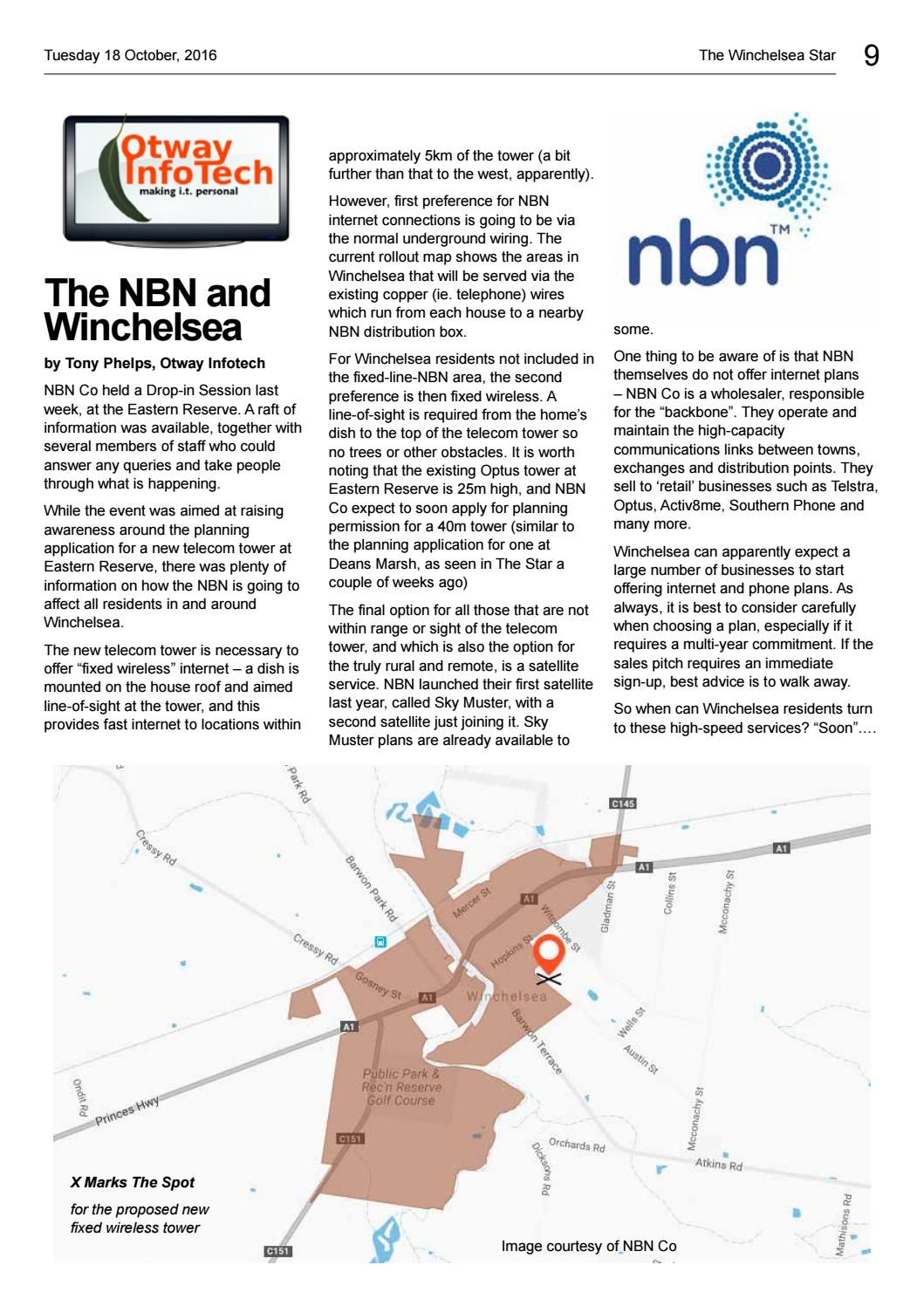 Winchelsea Star 18 Oct 2016 Vol39 Ed41 By The Issuu House Wiring Internet Connection