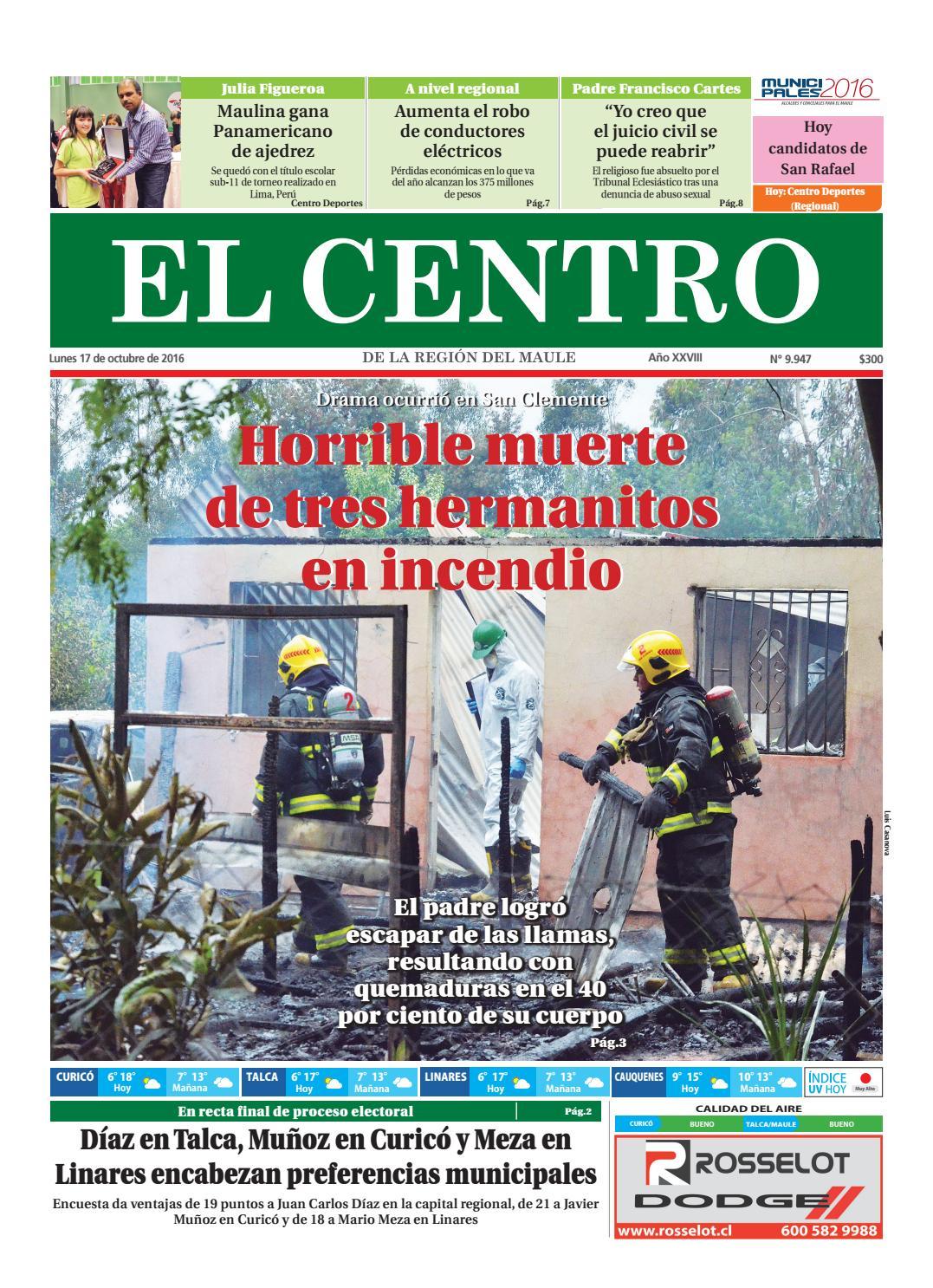 Diario 17-10-2016 by Diario El Centro S.A - issuu