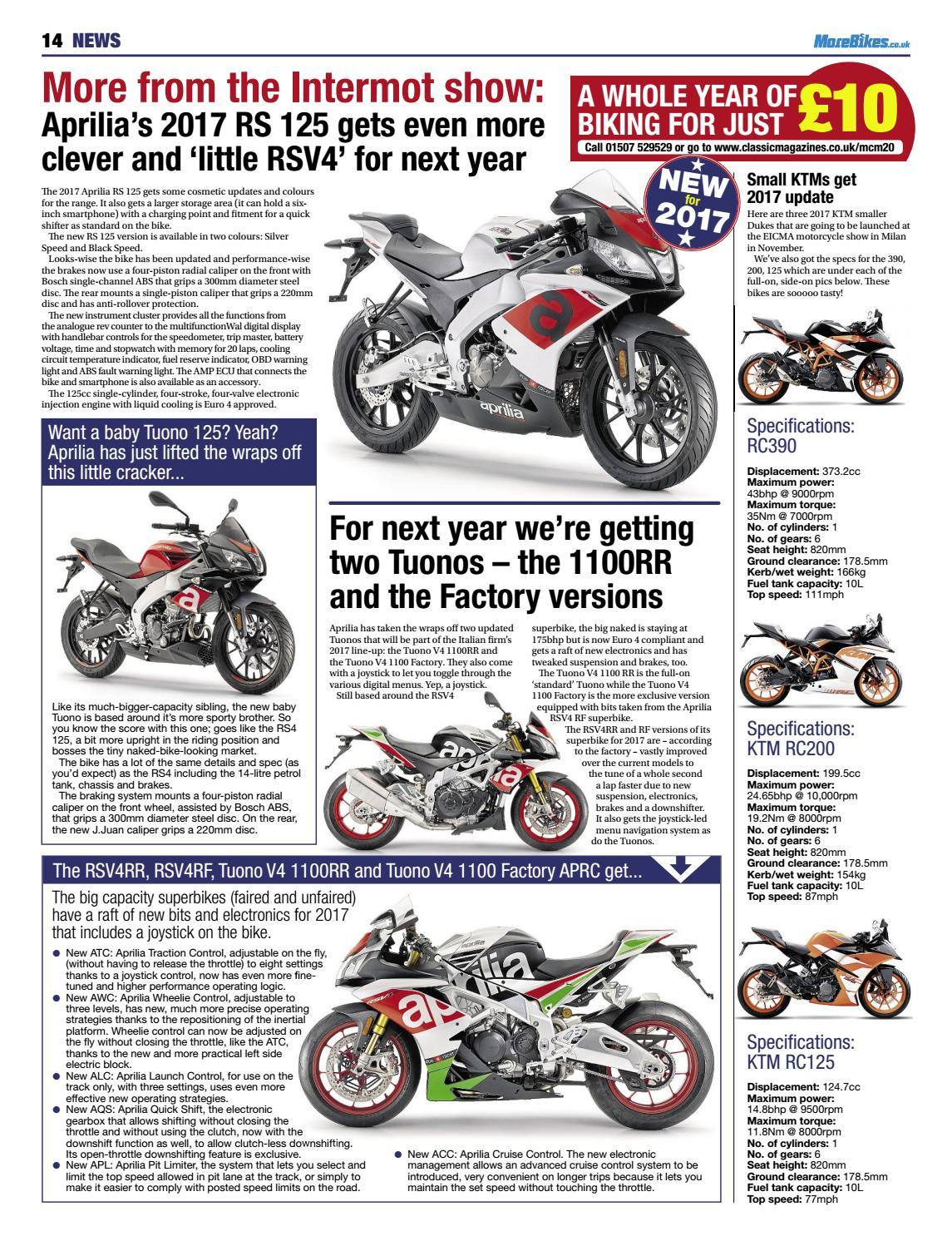 Outstanding Motorcycle Monthly November 2016 By Mortons Media Group Ltd Uwap Interior Chair Design Uwaporg