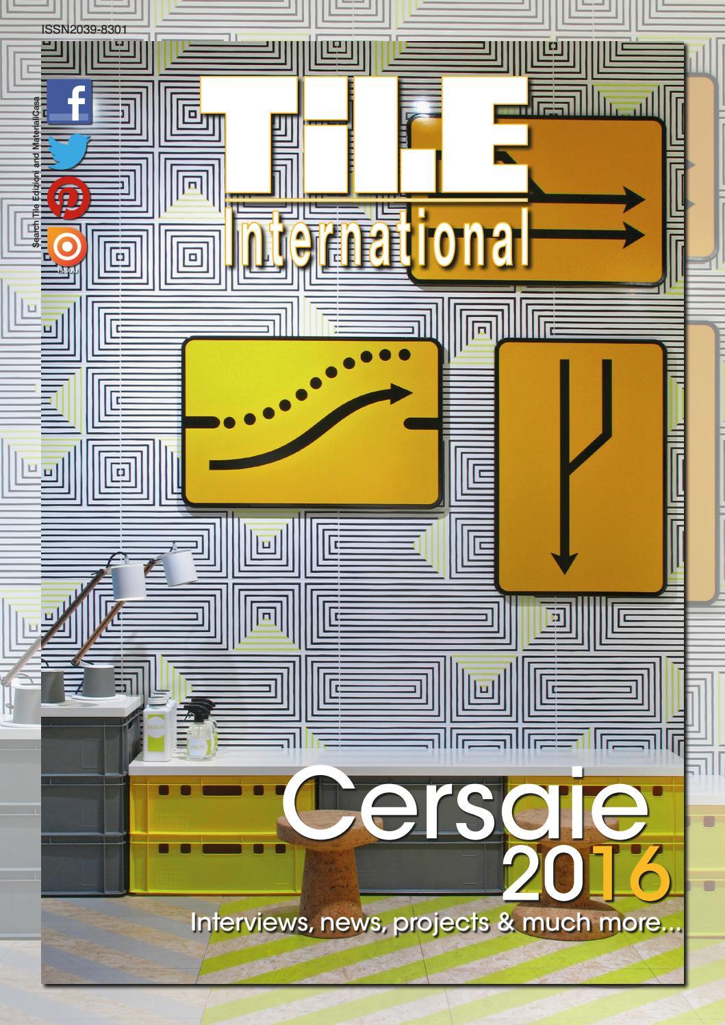 Pavimento Pvc Click Opinioni tile international 2/2016 by tile edizioni - issuu
