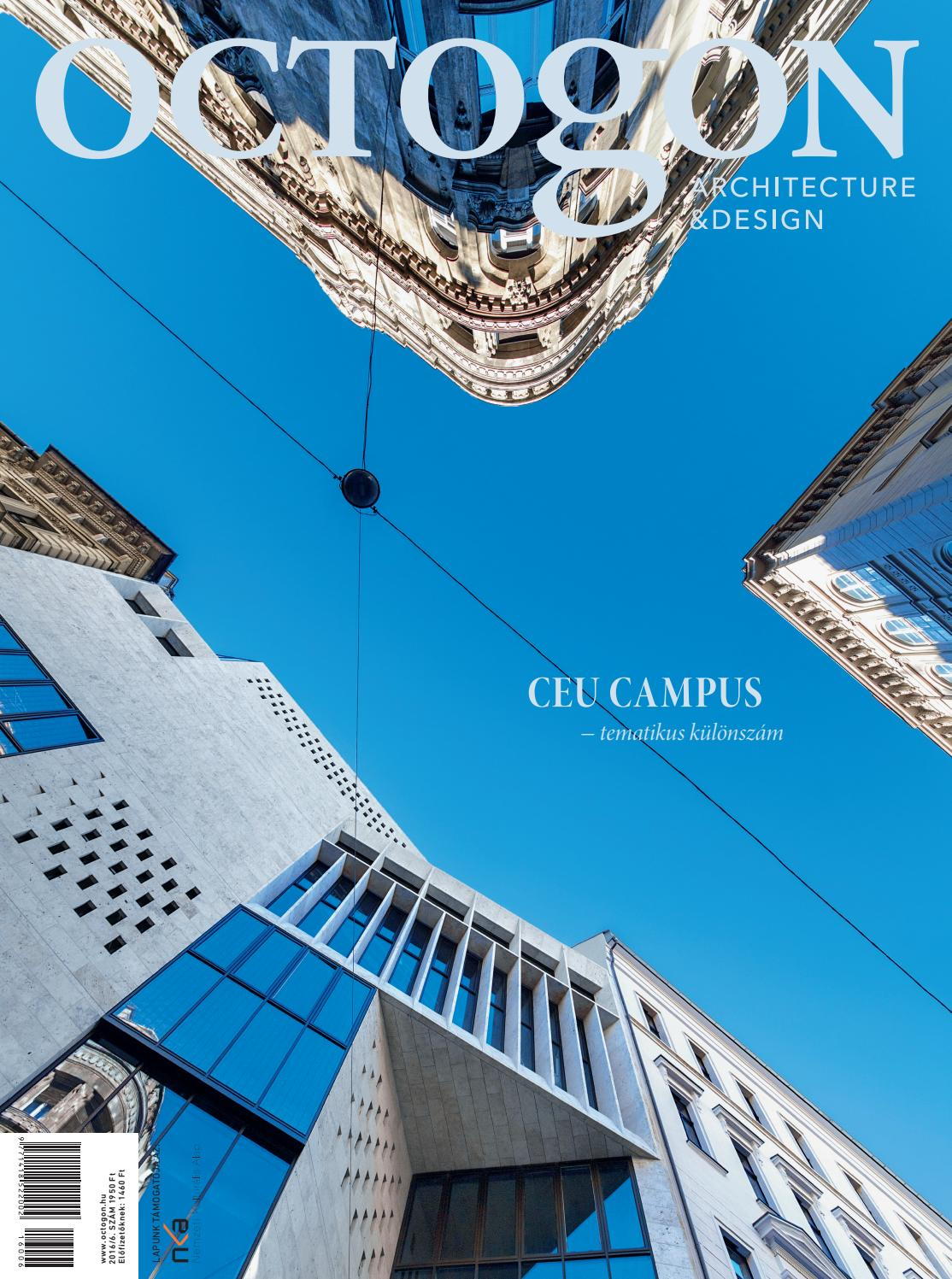 Igy latnak minket az amerikaiak 784 - Octogon Magazine 2016 6 Ceu Campus Special Edition By Octogon Architecture Design Magazine Issuu