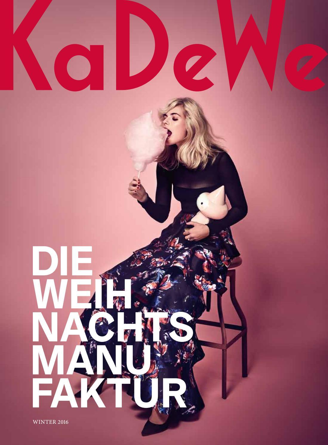 KaDeWe / Weihnachten 2016 by KaDeWe Berlin - issuu