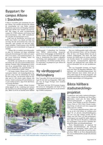 Byggstart for campus albano