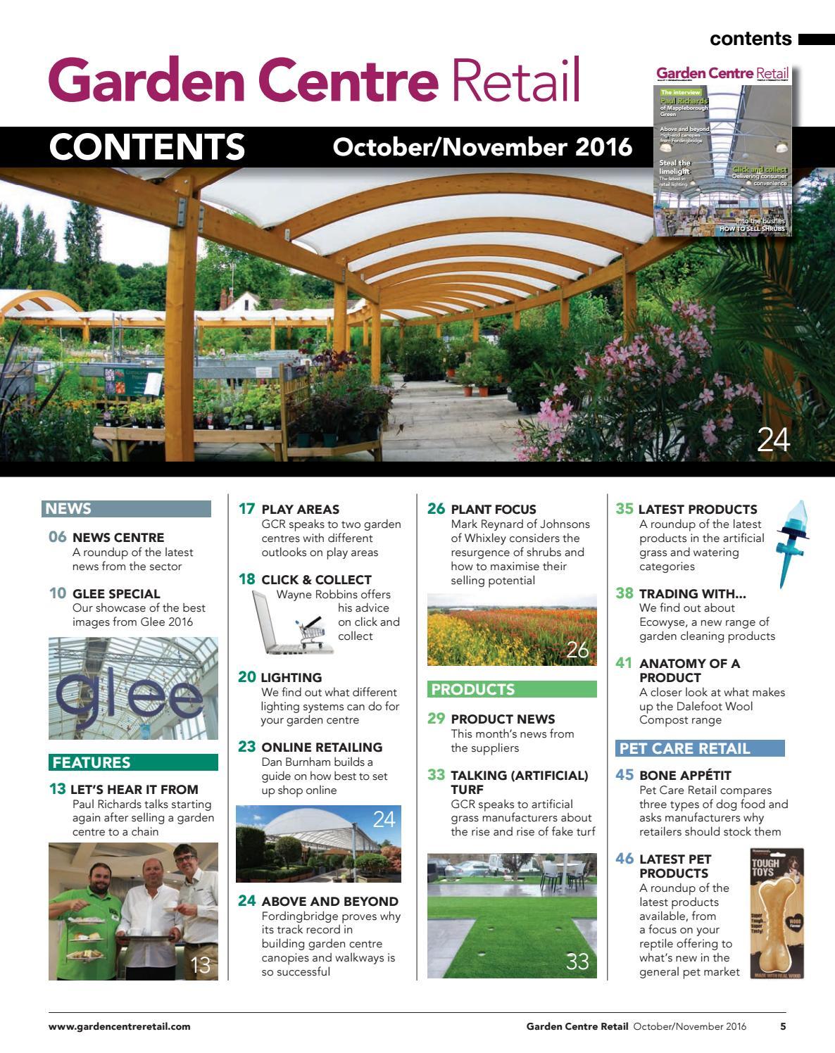 Garden Centre Retail October November By Eljays44 Issuu