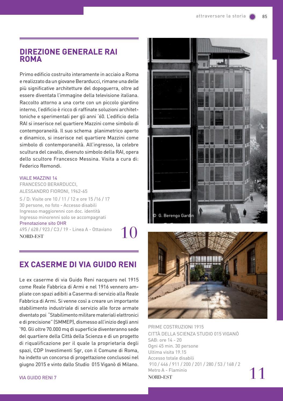 Guida open house roma 2016 by open house roma issuu for Costo per costruire un edificio